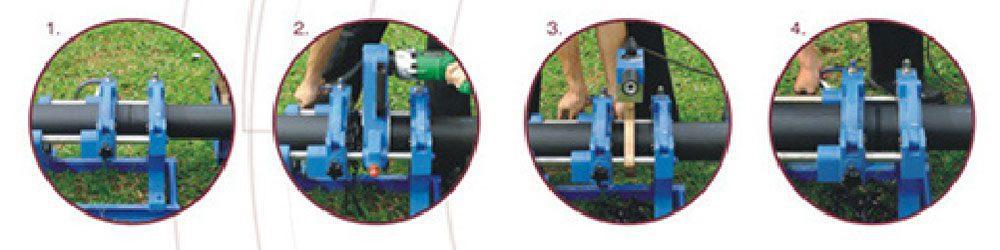 Penyambungan pipa HDPE Butt Fusion